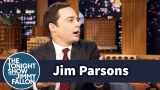 Watch Late Night with Jimmy Fallon Season  - Jim Parsons Calls Out People Who Walk with Phones in Their Faces Online