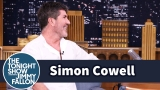 Watch Late Night with Jimmy Fallon Season  - Simon Cowell Practiced Parenthood with Puppies Online