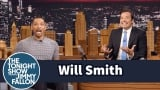 Watch Late Night with Jimmy Fallon Season  - Will Smith Fanboyed When He Saw the Batmobile on the Suicide Squad Set Online