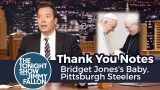 Watch Late Night with Jimmy Fallon Season  - Thank You Notes: Bridget Jones's Baby, Pittsburgh Steelers Online