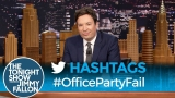 Watch Late Night with Jimmy Fallon Season  - Hashtags: #OfficePartyFail Online
