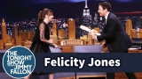 Watch Late Night with Jimmy Fallon Season  - Felicity Jones Demos Her Badass Star Wars Fight Moves on Jimmy Online