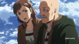 Watch Attack on Titan Season 2 Episode 8 - Crushing Blow/The 57... Online