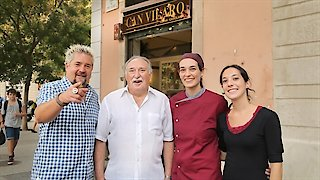 Watch Diners, Drive-Ins and Dives Season 26 Episode 2 - A Sampling Of Spain Online