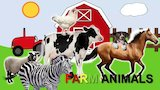Watch Dora the Explorer - Farm and Domestic Animals Vocabulary   Learn Farm Animal Names for Children Online