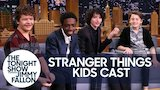 Watch The Tonight Show Starring Jimmy Fallon - The Boys of Stranger Things Are Obsessed with High School Musical Online