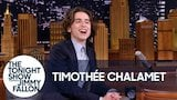Watch The Tonight Show Starring Jimmy Fallon - Timothe Chalamet Broke His Only Rule for The Tonight Show Online