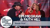 Watch The Tonight Show Starring Jimmy Fallon - Tim McGraw & Faith Hill: Break First Online