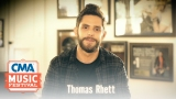 Watch Country Music Awards Season  - Thomas Rhett Give a Shout-out to the CMA Foundation | CMA Online