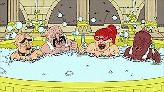 Watch Superjail! Season 4 Episode 3 - Jean, Paul, Beefy an... Online