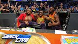 Watch WWE Raw - The New Day rock their own announce table as The Bar battle The Usos on SmackDown LIVE: Aug. 1, 2018 Online