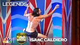 Watch American Ninja Warrior - Isaac Caldiero: First American to Finish Stage 3 - American Ninja Warrior Online
