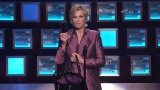 Watch People's Choice Awards Season  - Jane Lynch Shows off the People's Choice Gift Bag Online