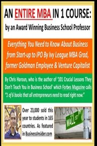 An Entire MBA in 1 Course by an Award Winning Business School Professor, Venture Capitalist & Author