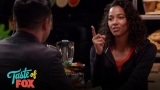 Watch Pitch - Kylie Bunbury Drills Mark Consuelos With Questions | TASTE OF FOX Online