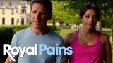 Watch Burn Notice - Royal Pains | 'He's Up to Something from Episode 805 Online