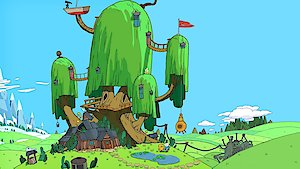 Watch Adventure Time with Finn and Jake Season 100 Episode 8 - Frog Seasons, Summer Online