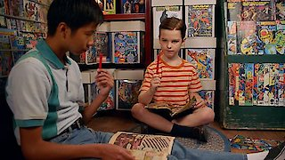 Watch Young Sheldon Season 1 Episode 4 - A Therapist a Comic....Online