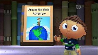 Watch Super Why! Season 7 Episode 16 - Around the World Adv... Online