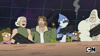 Watch Regular Show Season 12 Episode 6 - One Space Day At A T... Online