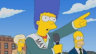 Watch The Simpsons Season 29 Episode 6 - The Old Blue Mayor S... Online