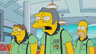 Watch The Simpsons Season 29 Episode 7 - Singin' in the Lane Online