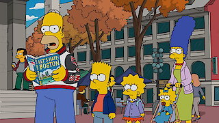 Watch The Simpsons Season 28 Episode 3 - The Town Online