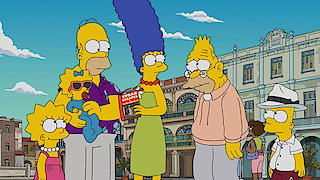 Watch The Simpsons Season 28 Episode 7 - Havana Wild Weekend Online
