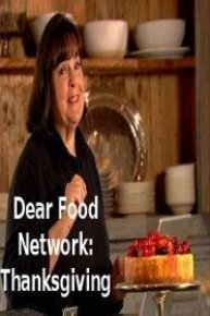 Dear Food Network: Thanksgiving