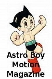 Astro Boy Motion Magazine