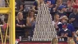 Watch Fox Sports Season  - Indians fans build beer pyramid at Progressive Field Online