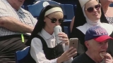 Watch Fox Sports Season  - Dressed like a nun and sipping a Miller Lite Online
