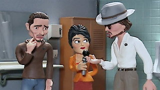 Watch Celebrity Deathmatch Season 6 Episode 6 - Johnny Depp Vs. Orla... Online