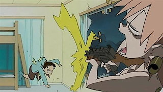 Watch FLCL Season 1 Episode 5 - Bura-Bure (Brittle B... Online
