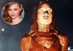 First Look: Chloe Moretz Revives The Most Famous 'Carrie' Moment