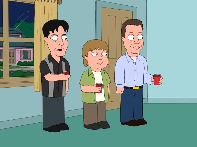 Seth MacFarlane Gets Visit From Pissed Charlie Sheen Fans