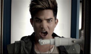 Watch Adam Lambert's Epic, Dystopian Music Video 'Never Close Our Eyes'