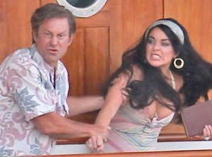 More Images Showcase Lohan As Liz Taylor, Grant Bowler As Richard Burton