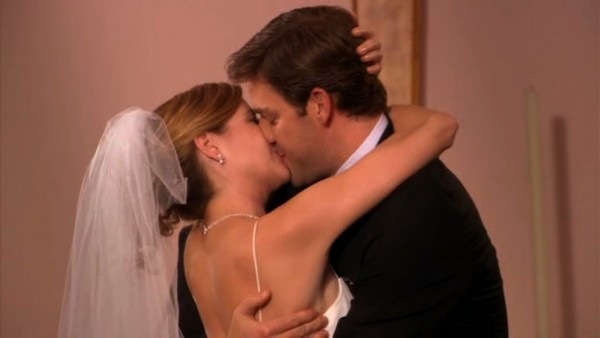 'The Office''s Pam and Jim Were Supposed to Break Up