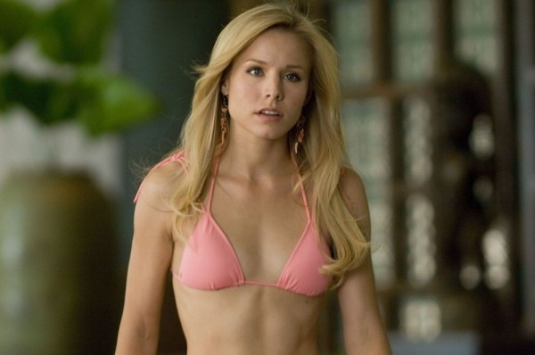 Why Does Kristen Bell Wear Gloves in the Pool?