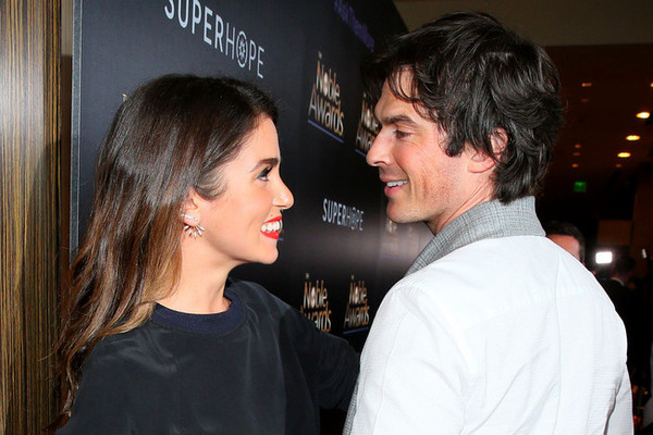 Ian Somerhalder Shares Naked Pic of Nikki Reed