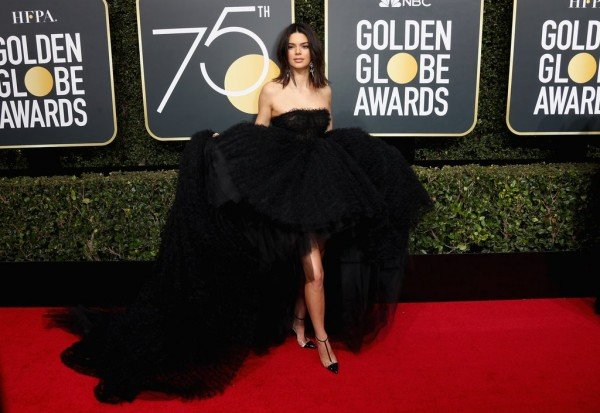 Kendall Jenner Debuts New Lips at Golden Globes?