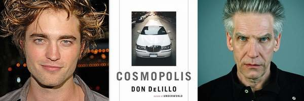 Robert Pattinson to play lead role in Cronenberg's Cosmopolis