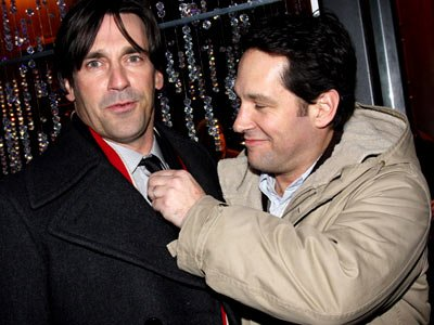 Paul Rudd's Long-Standing 'Trivial' Grudge Against Jon Hamm of 'Mad Men'