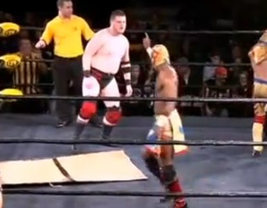 Yidio Video of the Day: 'That's the Most Illegal Thing I've Seen in the History of Pro Wrestling' (Includes The Worm)