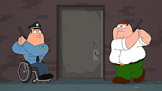 Watch Family Guy Season 15 Episode 15 - Cop and a Half-wit Online
