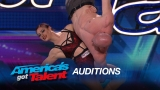 Watch America's Got Talent - Duo Volta: Former Couple Show Off Stunning Trapeze Act - America's Got Talent 2015 Online