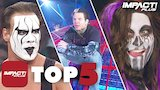 Watch IMPACT Wrestling - 5 GREATEST Returns in IMPACT Wrestling History! | IMPACT Plus Top 5 Online