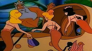 Watch The Little Mermaid Season 3 Episode 4 - Land of the Dinosaur... Online