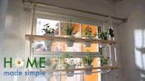 Watch Home Made Simple - DIY Window Herb Garden | Home Made Simple | Oprah Winfrey Network Online